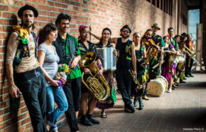 Gypsy Kumbia Orchestra will headline July 10th, combining Afro-Colombian rhythms, eastern European melodies, choreographed dance, circus, theatrical staging and dynamic audience interaction.