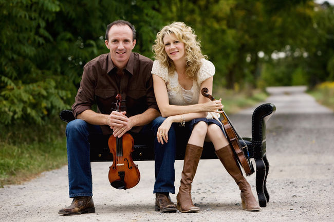 Natalie MacMaster & Donnell Leahy to headline Saturday of NLFB 2016 with their super hot band.