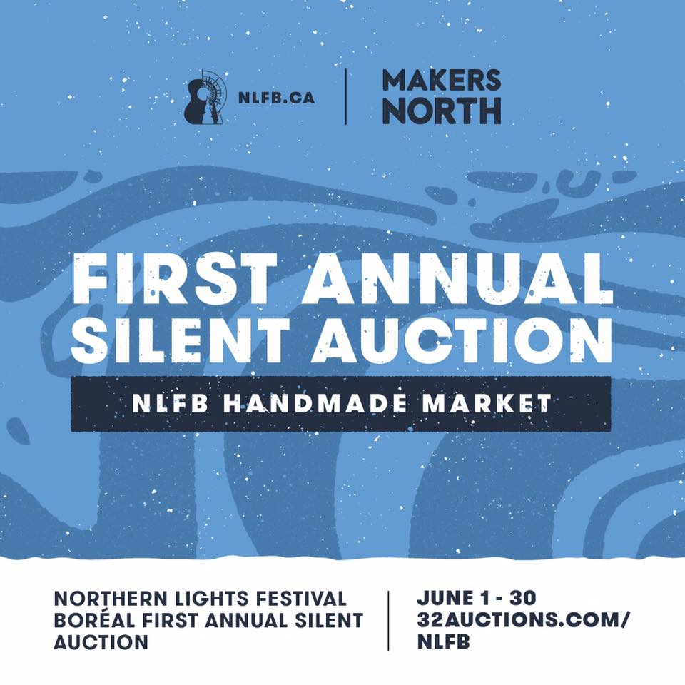bidding is open for the first annual handmade silent auction
